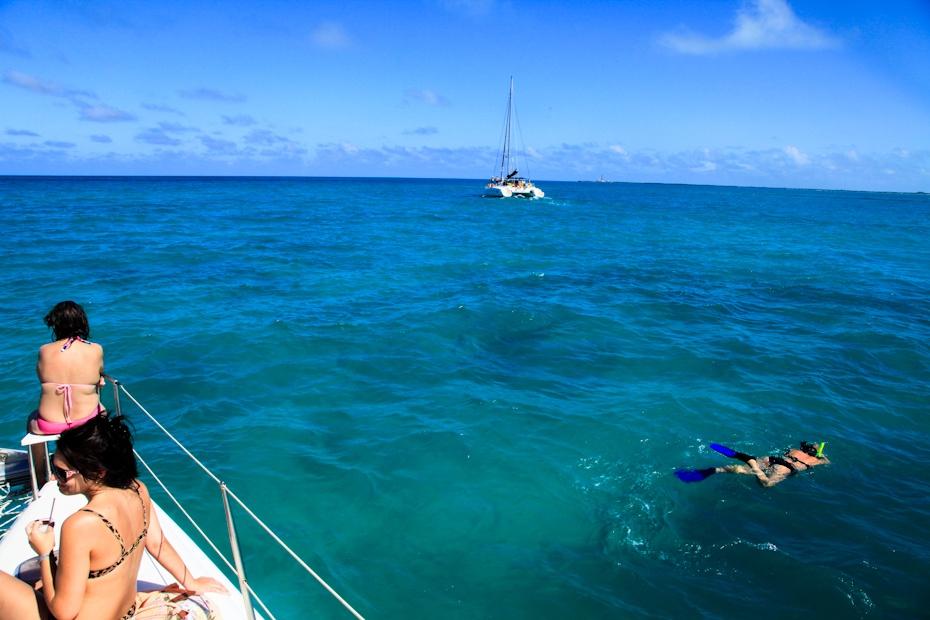 古巴科科岛(4):纵情于加勒比海的蓝色美景之中