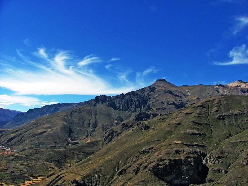 秘鲁的高山,驼羊和梯田 - sihaiyunyou - sihaiyunyou的博客
