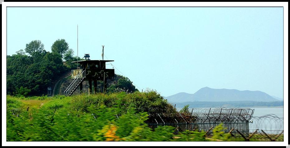 韩国三八线风景图片