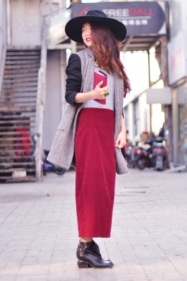 【Ava搭配日记】复古红风格化 - AvaFoo - Avas Fashion Blog