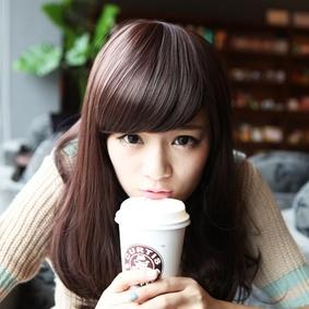 齐刘海可爱女生头像
