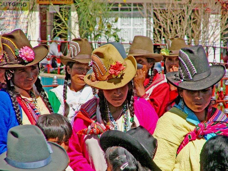 纯朴的秘鲁村姑小村聚会 - sihaiyunyou - sihaiyunyou的博客