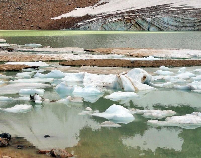 大山(MT. Edith Cavell)冰池和冰川 - sihaiyunyou - sihaiyunyou的博客