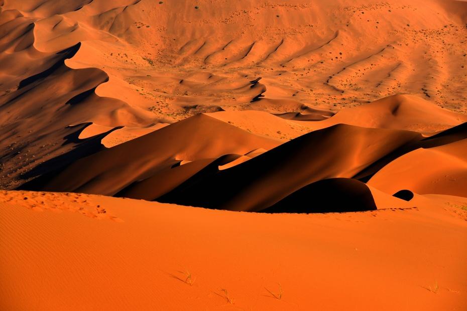 在沙漠拍摄要注意保护好照相机,一旦沙漠起风,细如面粉的沙子微粒