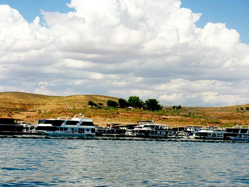 美国著名的第二大人工湖,鲍威尔湖 - H哥 - H哥的博客