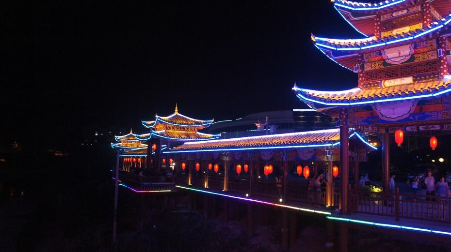 桂林资源:绚丽多彩夜色 - 余昌国 - 我的博客