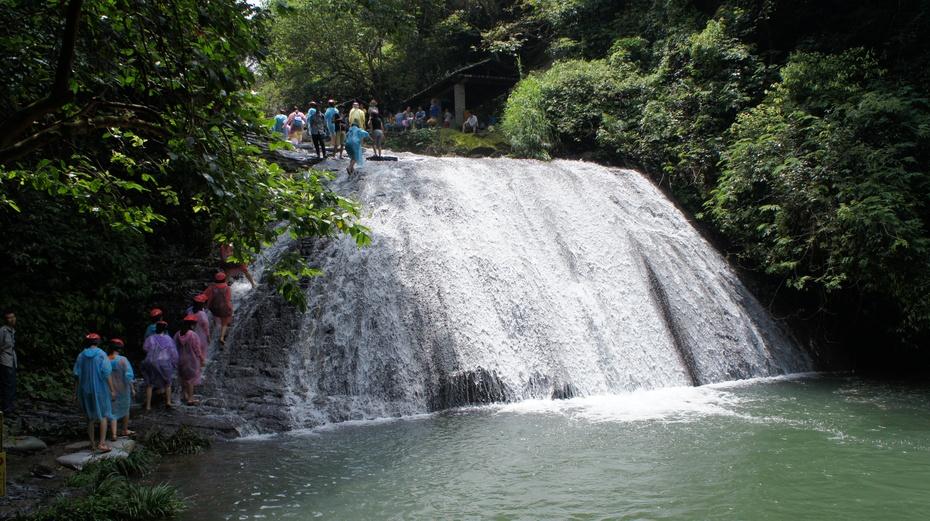 广西桂林:玩耍古东瀑布 - 余昌国 - 我的博客