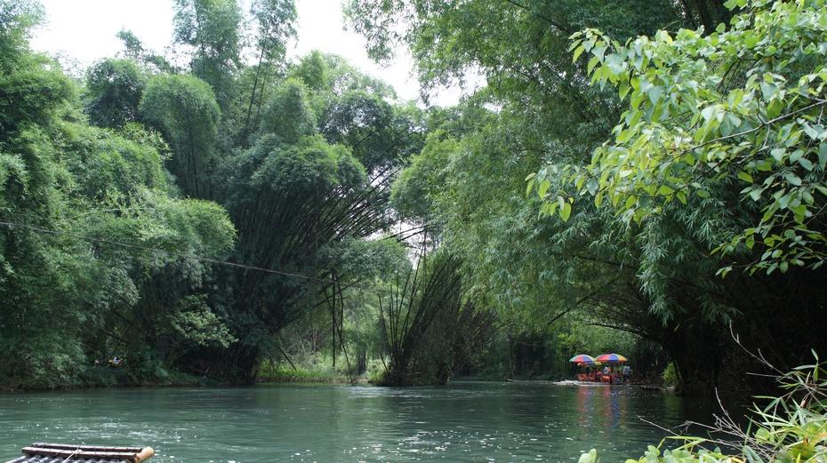 桂林旅游:漂流遇龙河 - 余昌国 - 我的博客