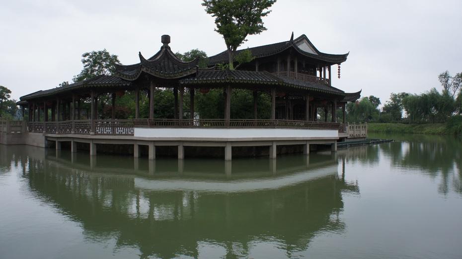 姜子牙垂钓的地方:常熟尚湖 - 余昌国 - 我的博客