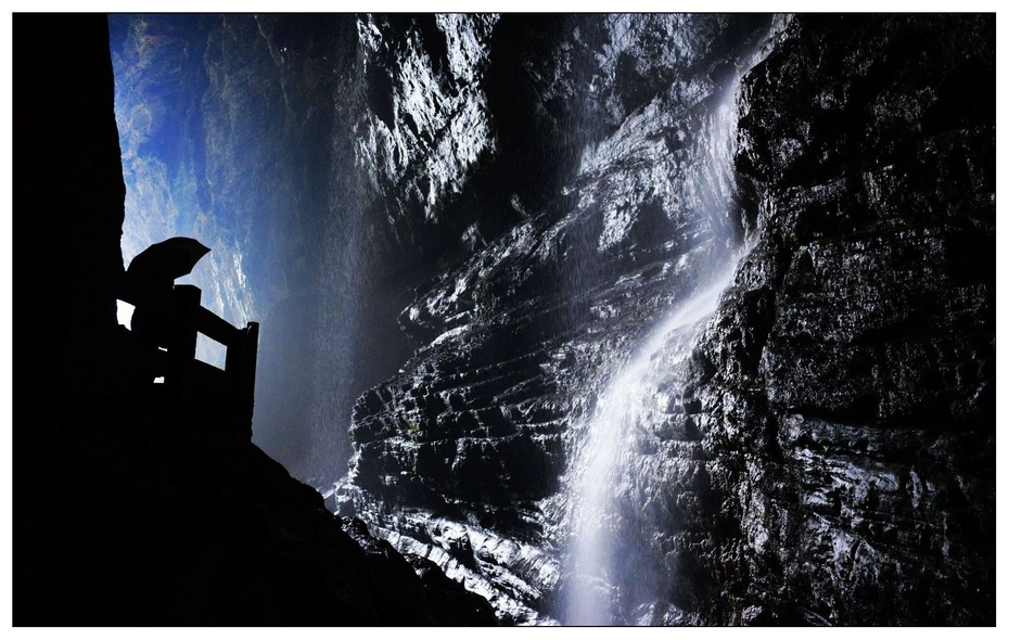 武隆地缝风光无限 - H哥 - H哥的博客