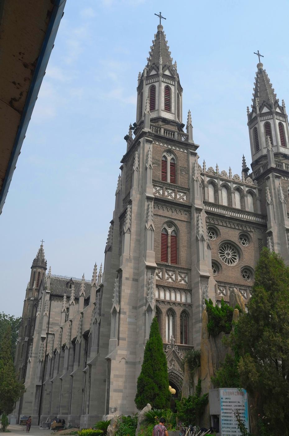 洪家楼大教堂 | 中国华北地区最大教堂 - 海军航空兵 - 海军航空兵