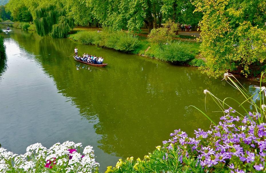 德国古城 图宾根-内卡河畔 - H哥 - H哥的博客