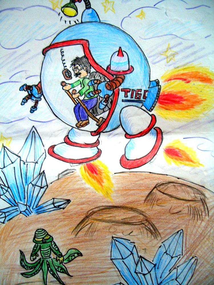 让我们一起畅想未来,用画笔描绘出一个逼真又虚幻的梦幻未来世界吧!图片