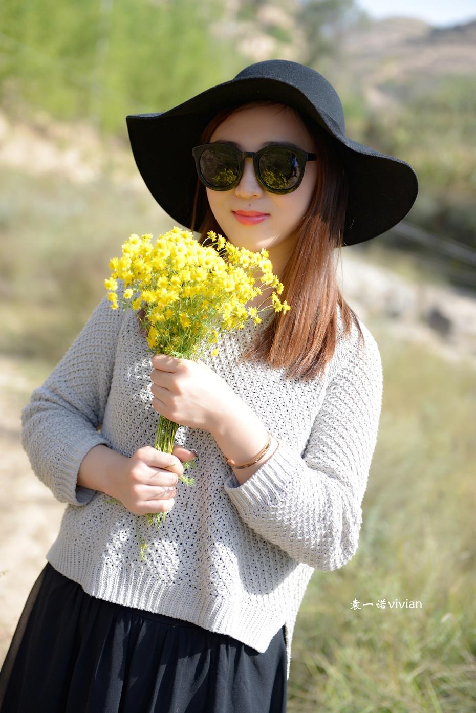 【袁一诺vivian】故事里的小黄花,初春搭 - 小一 - 袁一诺vivian