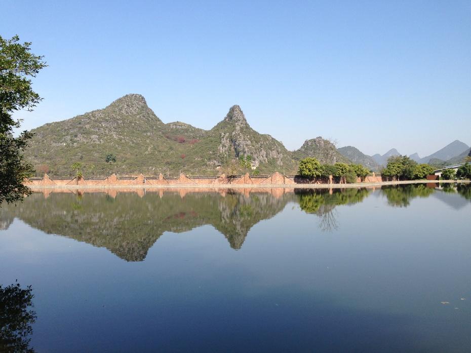 桂林愚自乐园地中海俱乐部度假村美妙的倒影 - 余昌国 - 我的博客