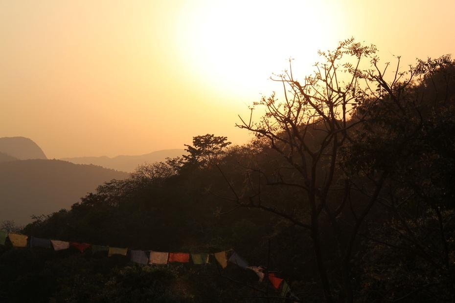 摄于印度灵鹫山
