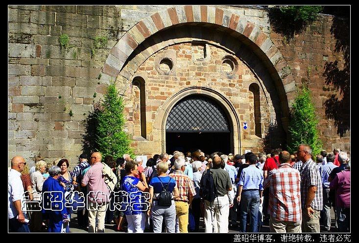 欧洲最浪漫的教堂废墟 - 盖昭华 - 盖昭华的博客