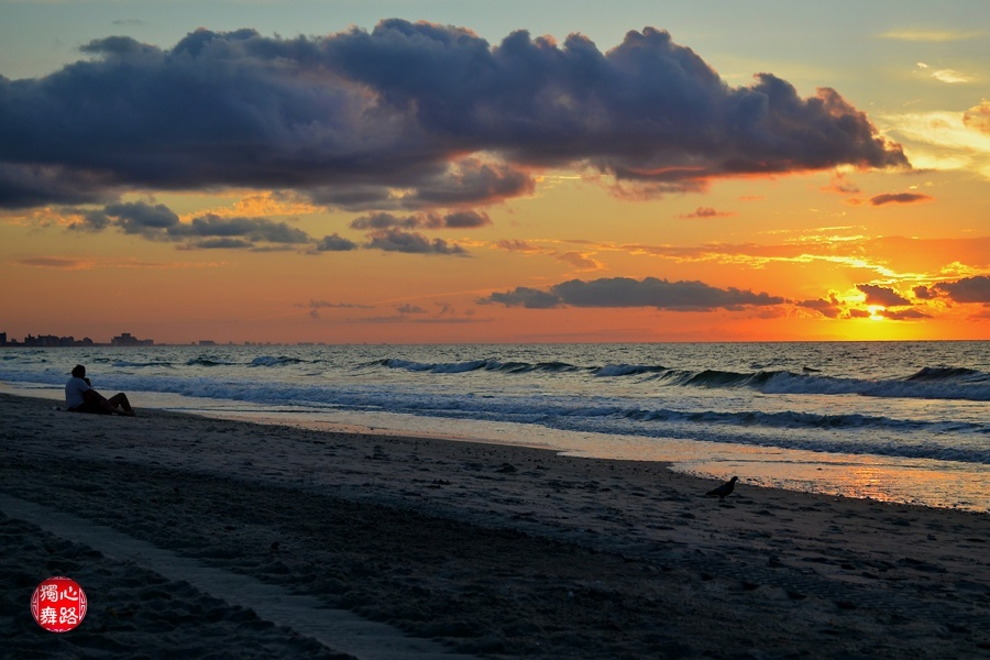 实拍美国黄金海岸