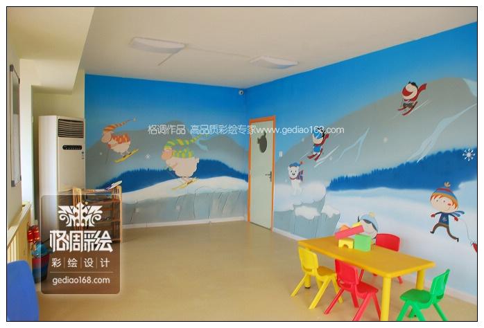 英语培训机构墙面设计