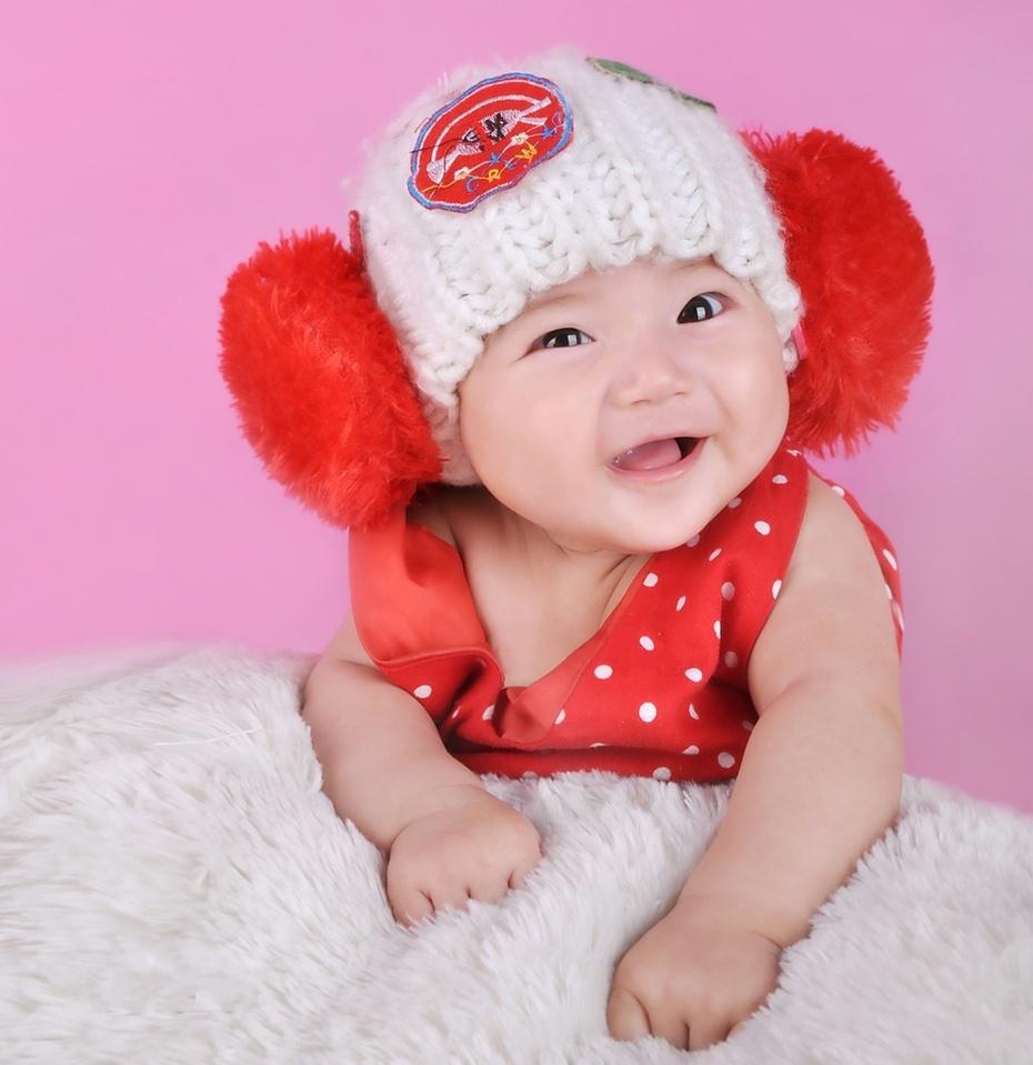 我可爱的小宝宝——武汉小阿福儿童摄影客片欣赏