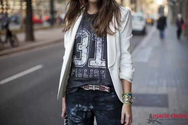 用字母T恤扮年轻好不好 搭出时髦感看她们 - 嘉人marieclaire - 嘉人中文网 官方博客