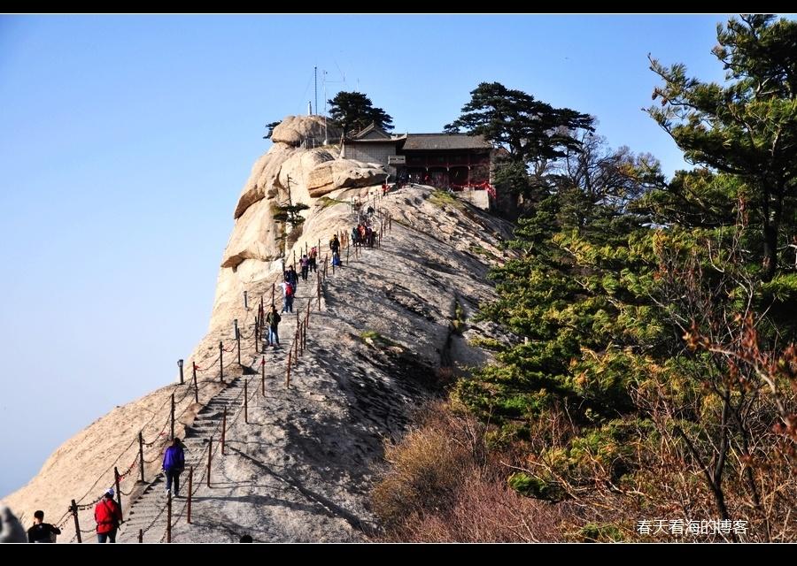 大美华山 西峰-团圆之峰图片