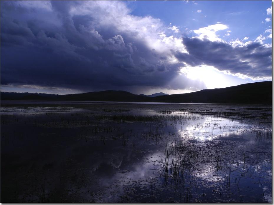 宁静的圣湖--尕海