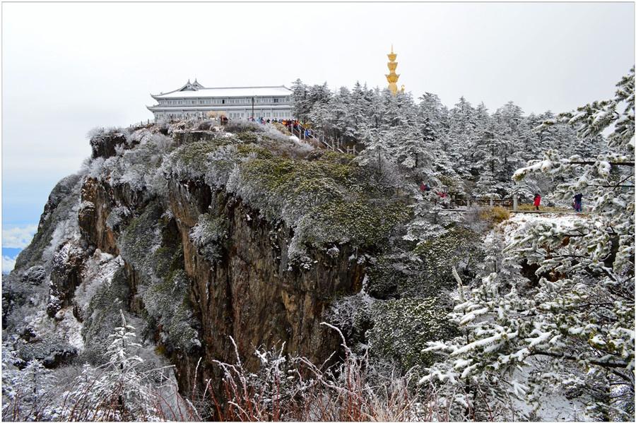 春末仙境——雪雾峨眉山 - H哥 - H哥的博客