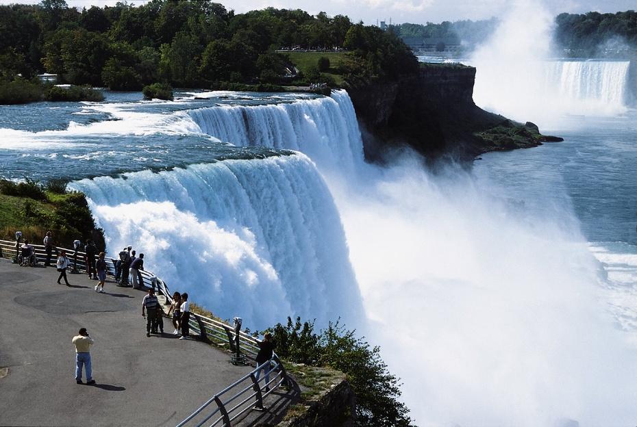 美国行之五十四—壮观的尼亚加拉瀑布 - 余昌国 - 我的博客