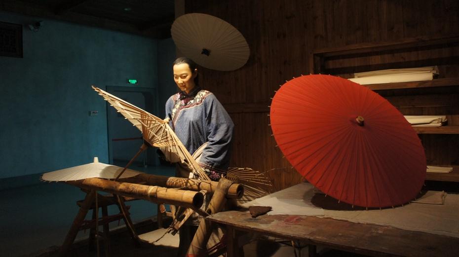 走进中国伞博物馆 - 余昌国 - 我的博客
