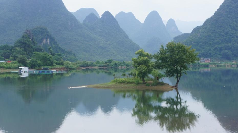 著名导演吕克贝松外景拍摄地:桂林永福金鸡河水库 - 余昌国 - 我的博客
