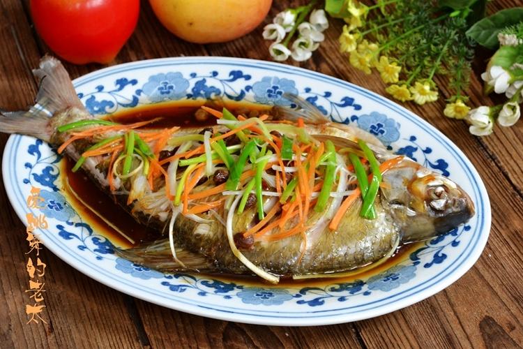 原汁原味的享受-- 豆豉三丝蒸鳊鱼 - 慢美食 - 慢 美 食