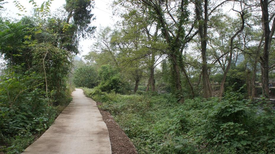 骑行兴安绿道 感受乡村原生态 - 余昌国 - 我的博客