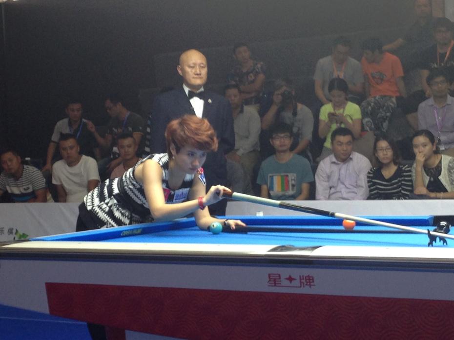 现场感受世界女子九球锦标赛 - 余昌国 - 我的博客