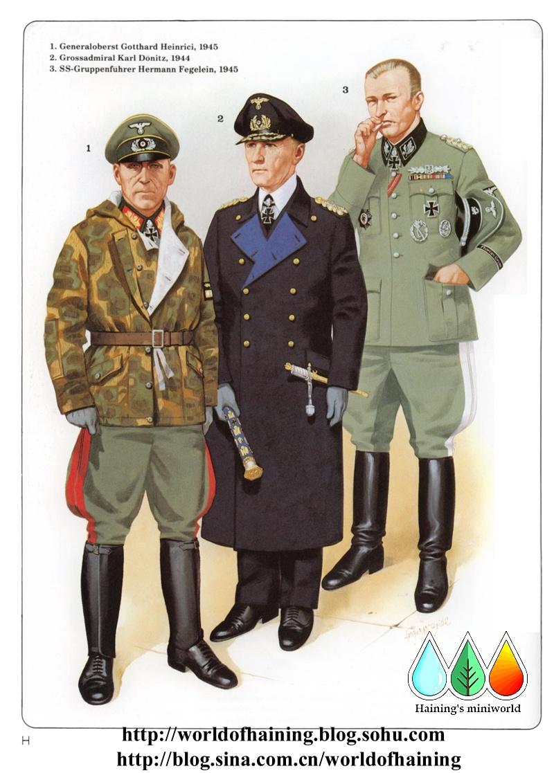海军将官的年夜衣具有明蓝色下翻发饰里,而海军军官版的军服佩剑经由