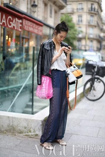 超模私服大比拼 - VOGUE时尚网 - VOGUE时尚网