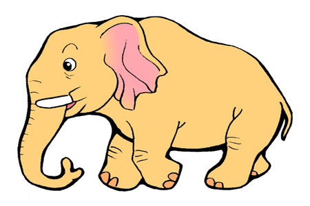 大象鼻子,,大象鼻子卡通图片