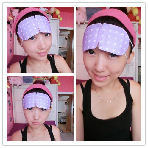 缓解眼疲劳 解决眼周问题-时间海野玫瑰蒸汽眼罩 - Anko - Anko