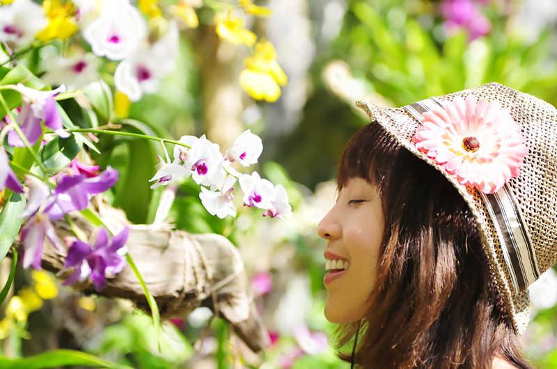 【小一】兰花谷记~情迷那一朵兰花 - 小一 - 袁一诺vivian