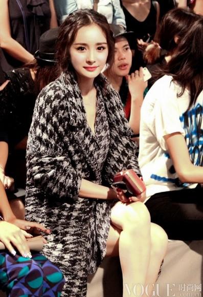 杨幂领衔纽约时装周最佳着装 - VOGUE时尚网 - VOGUE时尚网