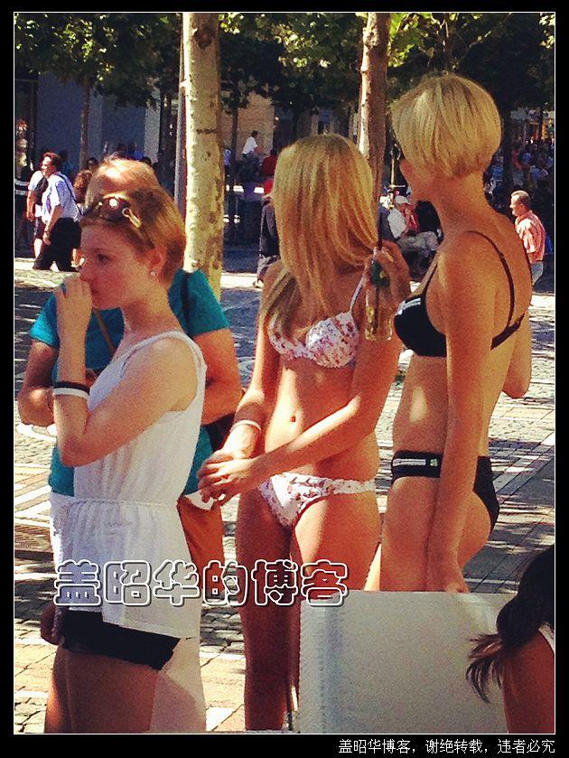 德国街头曼妙美女实拍 - 盖昭华 - 盖昭华的博客