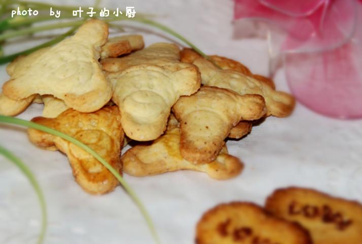 【不开火】----酥脆小饼干 - 叶子 - 叶子的小厨