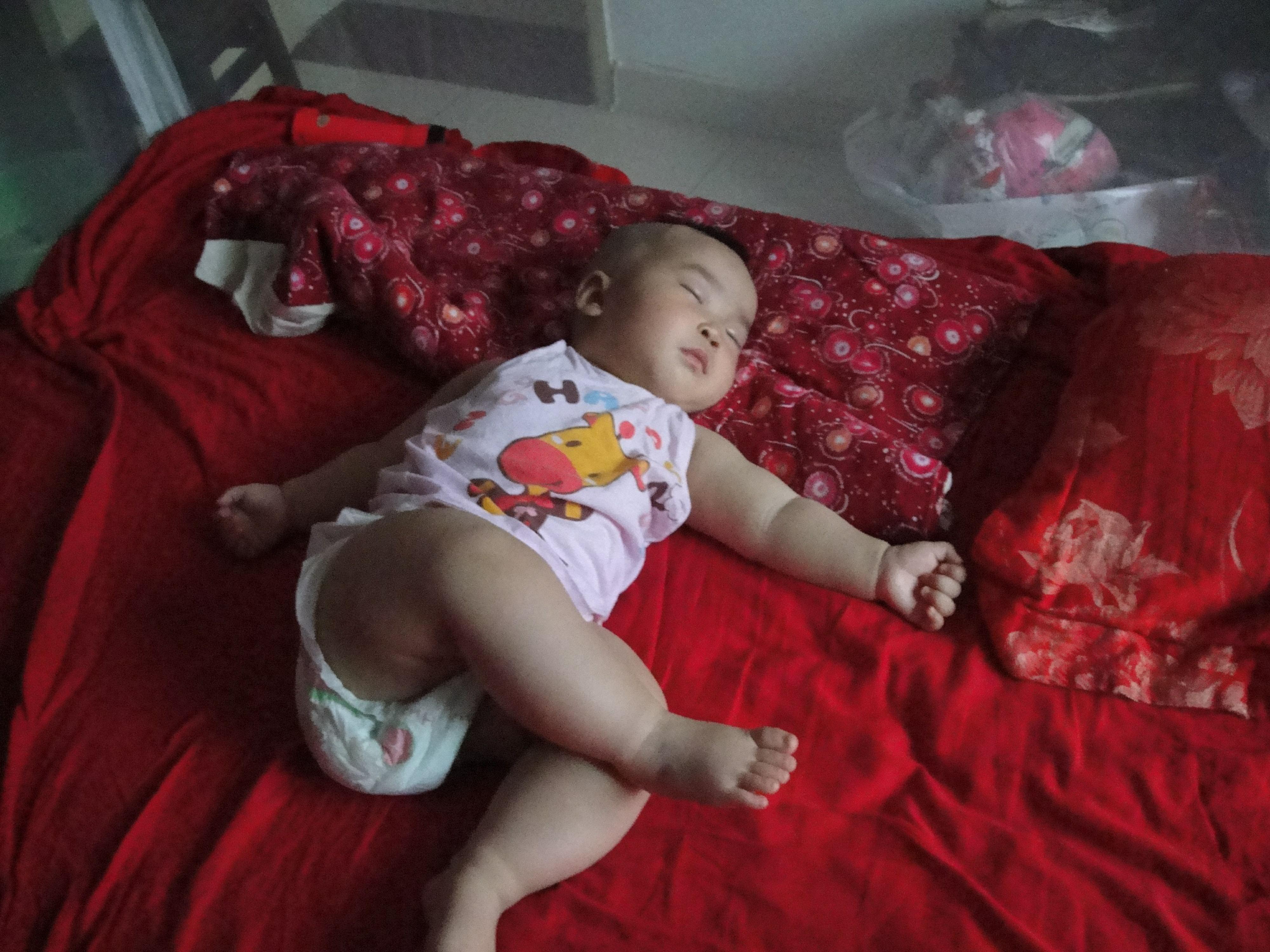 (最萌睡姿) 茜茜公主的可爱睡姿