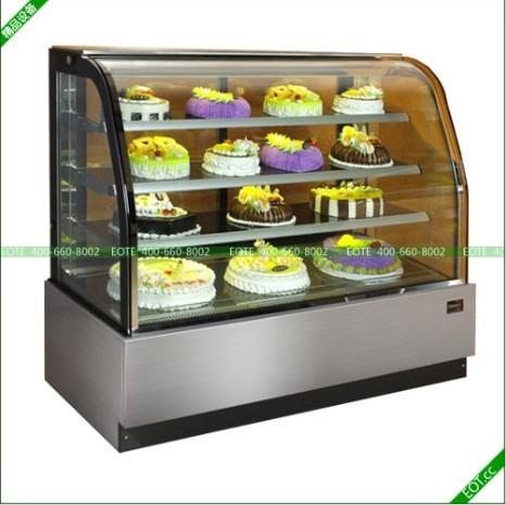 糕点展示柜|欧式蛋糕柜|弧形蛋糕展示柜|面包展示柜