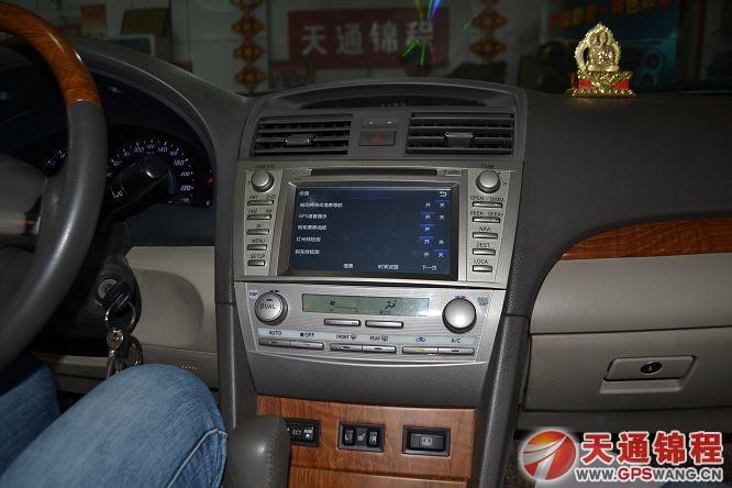 丰田老款11款凯美瑞安装飞歌新款开拓者专用车载dvd导航效果图
