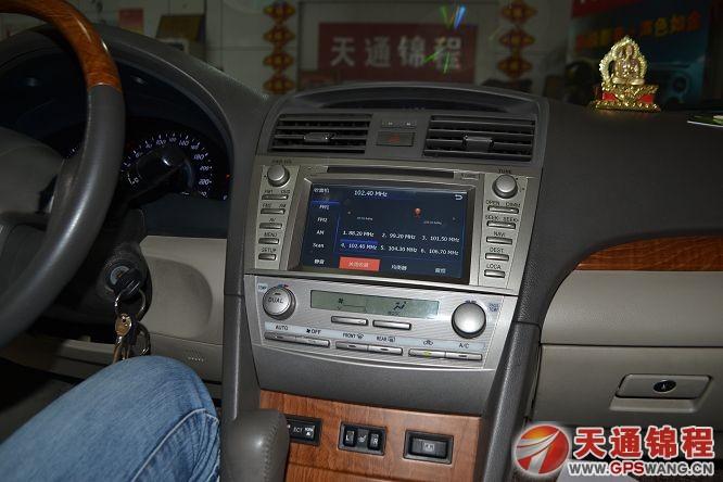 丰田老款11款凯美瑞安装飞歌新款开拓者专用车载dvd