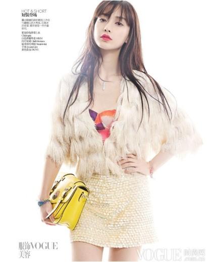 Angelababy俏丽演绎Vogue五月刊别册 - VOGUE时尚网 - VOGUE时尚网