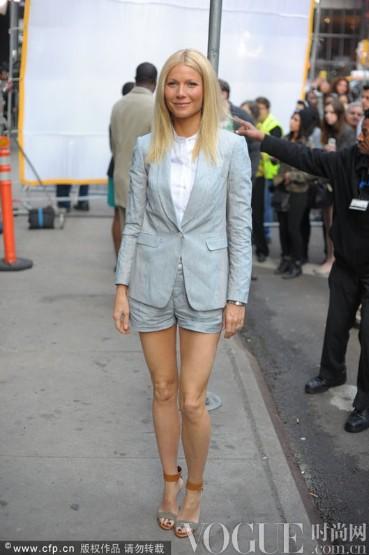 Gwyneth Paltrow:优雅才是常胜将军 - VOGUE时尚网 - VOGUE时尚网