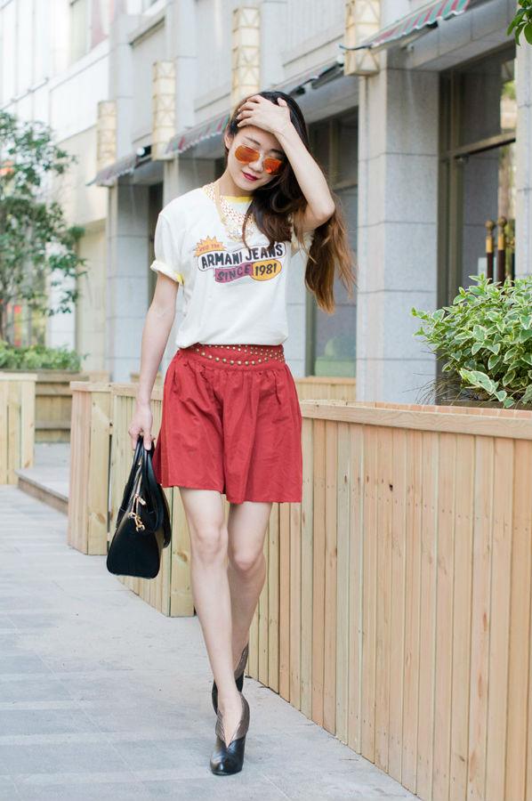 【Ava搭配周记】男朋友T恤穿起来 - AvaFoo - Avas Fashion Blog
