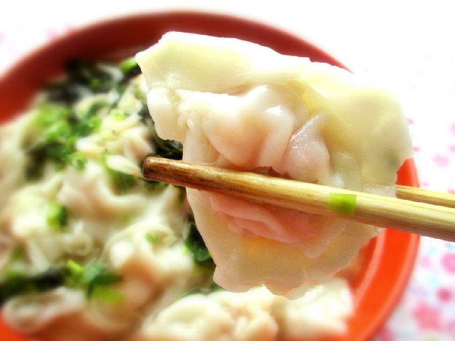 超有爱的鲜虾云吞面 - 慢生活美食客 - 慢生活美食客
